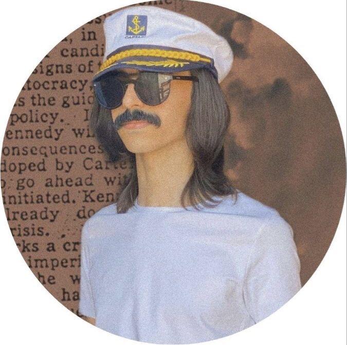 Pin By نسمـة On افتارات شباب Captain Hat Sleep Eye Mask Captain
