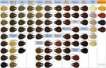 Rusk Deepshine Color Chart Purple Hair Idea With Additional Vivitone Permanent 3 448 X 290 Pixels