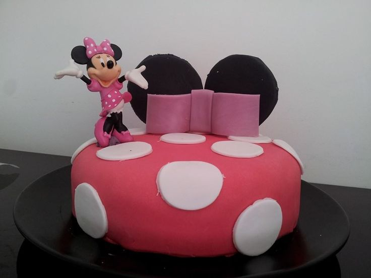 gateau pate a sucre Minnie