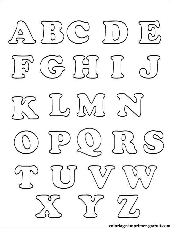 Coloriages Alphabet a imprimer