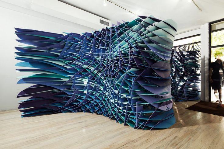 Slipstream / FreelandBuck: Sculpture, Inspiration, Slipstream Installation, Architecture, New York, Art Installation, Design