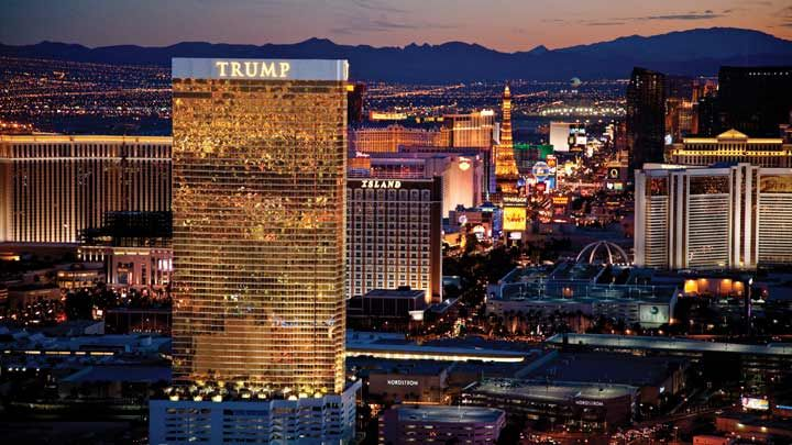 The Trump in Vegas is really nice too. Loved their lobby, and it was close to Wynn and Encore which have great partying and the Fashion Show mall was right across the street