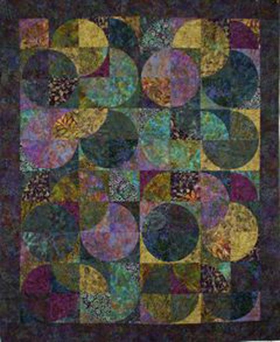 Eclipse Quilt Pattern Quilt Country DIY by UndercoverQuilts, $9.00