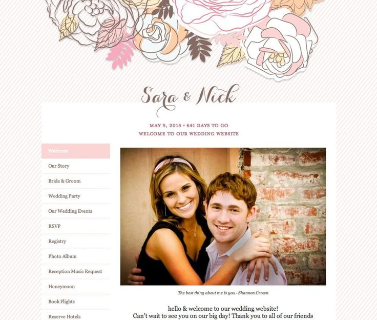 A Fool-Proof Way to Create the Ultimate Wedding Site