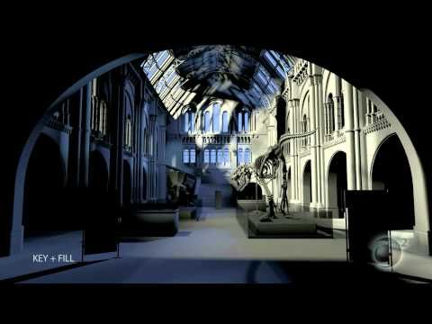 Museum Hall Breakdown - Chris Morris's Advanced Lighting - YouTube
