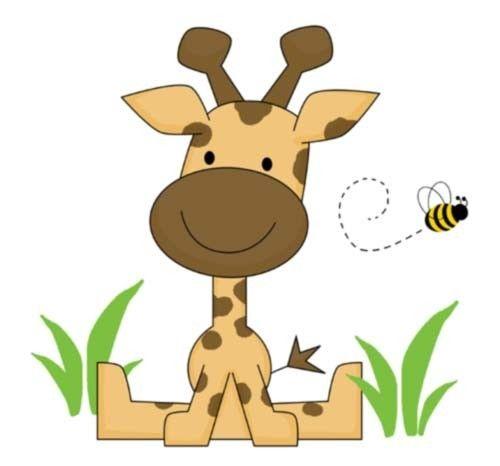 "Giraffe Wall Mural Baby Nursery Kids Room Decor measures 21.5"" Tall and 23.25"" Wide #decampstudios http://stores.ebay.com/DeCamp-Studios"