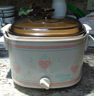 CorningWare 411: Rival Crock Pot with Corning Ware Booklet - Scanne...