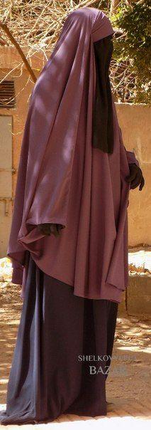 MashAllah muslim women covered from head to toe