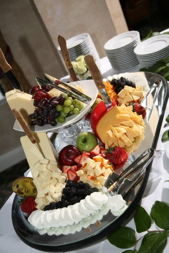 Wedding cheese Hors D'ouevres