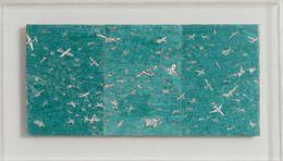 Alighiero e Boetti, 'Aerei verdi,' 1983, Repetto Gallery