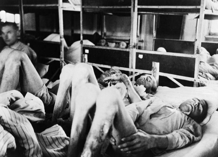 Unterversorgung:  In den Krankenstationen der Konzentrationslager herrschte...