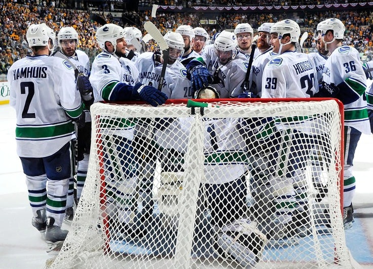Last year, by this time the Canucks had beaten Nashville in round two and were getting ready for game two of the western conference finals against San Jose. #canucks