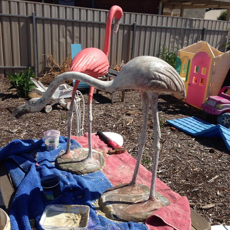 Flamingo restoration job.  Included rebuild of some of the body, paint and finish.