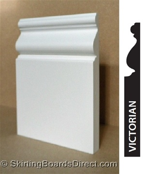 MDF Victorian Skirting Boards 25 x 3 metre