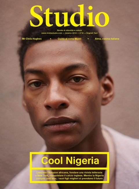 British-Nigerian model Ty Ogunkoya on the February 2014 cover of Italian magazine Rivista Studio for their 'Cool Nigeria' issue....