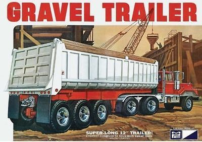 Star Trek 49211: New Mpc Plastic Model Kit 3 Axle Gravel Trailer 1 25 Scale Mpc823 06 - Sealed -> BUY IT NOW ONLY: $35.99 on eBay!