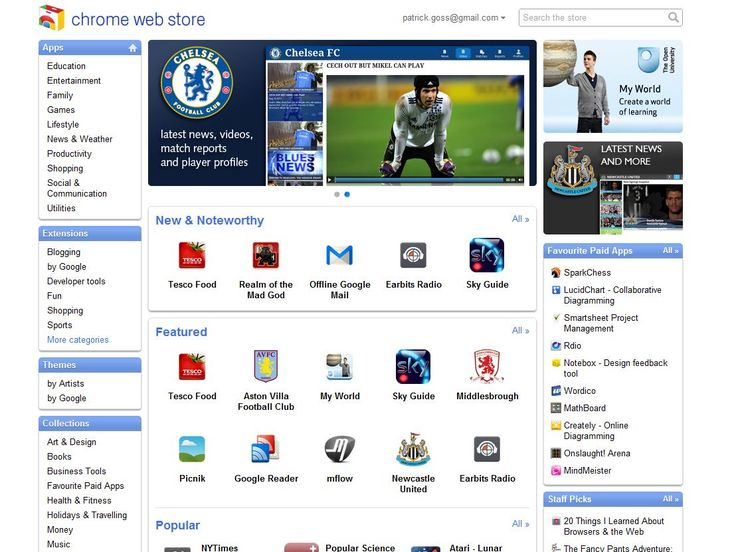 Google produces UK version of Chrome Web Store   Google has launched a localised version of its Chrome Web Store for the United Kingdom and 23 other countries, offering up more relevant apps for the British audience as well as the letter 'u' to colour. Buying advice from the leading technology site