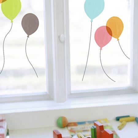 Nouvelles Images raamstickers ballonen