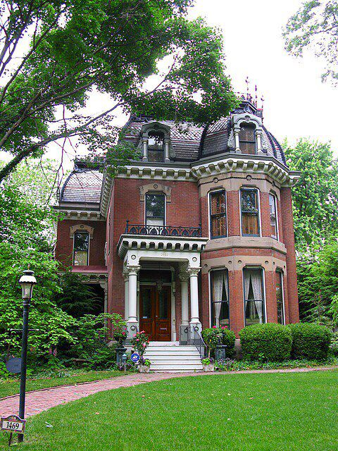Lovely brick Victorian home