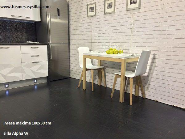 54 best Mesas de cocina pequeñas, fijas, extensibles y con cajón ...