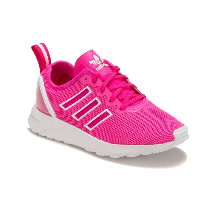 adidas ZX FLUX ADV K Pembe Beyaz Kadın Sneaker - Spor Ayakkabı - Kadın