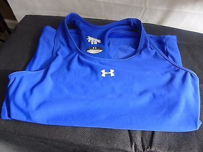 Under Armour Sports Bra Top Cobalt Blue Size Small   My ...