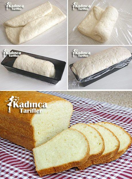 Tost Ekmeği Tarifi Kadincatarifler.com - En Nefis Yemek Tarifleri Sitesi - Oktay…