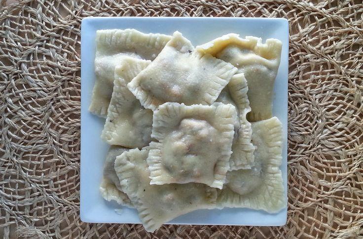 No Mess Paleo Raviolis #cleaneating #glutenfree