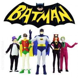 Coffret Batman Classic TV Series 1966 Figurines Pliables