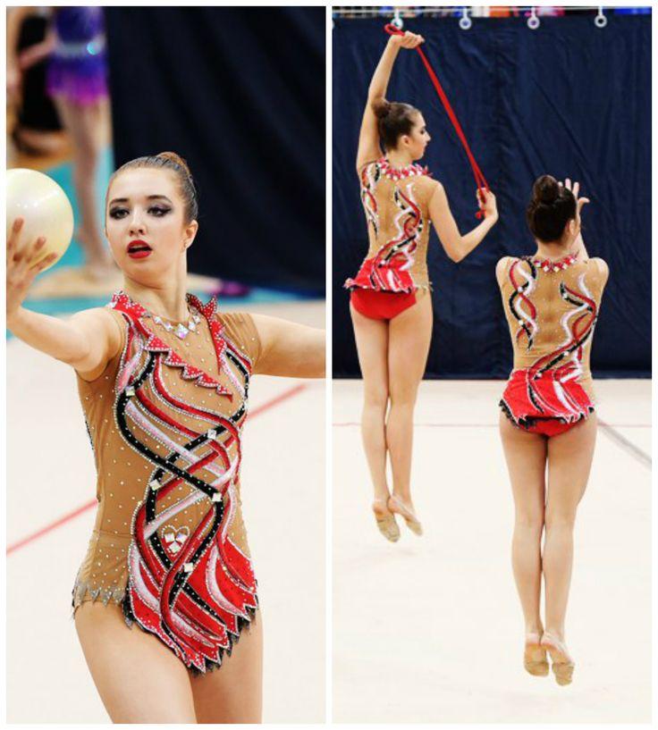 Rhythmic gymnastics leotard | Gimnasia rítmica | Pinterest ...