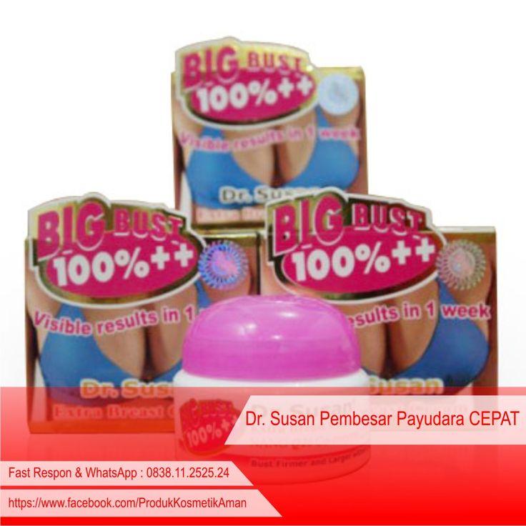 """----- .:: [ Dr. Susan Pembesar Payudara CEPAT ] ::. -----  Keunggulan """"DR. SUSAN"""" dibanding produk lainnya: - Hasil bisa terlihat dalam 1 minggu - Payudara lebih kencang dan padat, jika dipakai terus menerus lama-kelamaan ukuran cup bra bisa menjadi setingkat lebih besar   http://pemutihwajahpegasus.blogspot.com/2014/09/dr-susan-pembesar-payudara-cepat.html"""