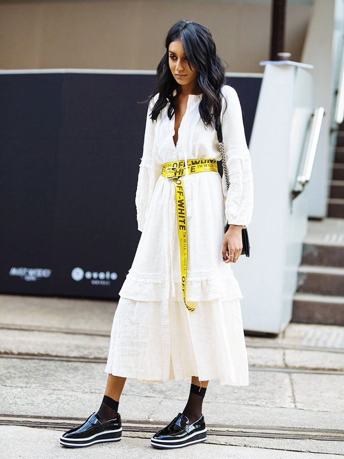 Australian Fashion Week 2017 has provided endless summer street style inspo for us here in the UK—check out our favourite looks.