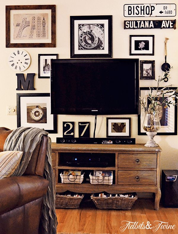 TidbitsTwine Gallery Wall 3c AFTER1 6 Tips for Creating a Collected Look