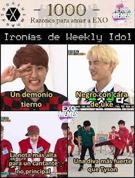 Resultado de imagen para exo memes en español