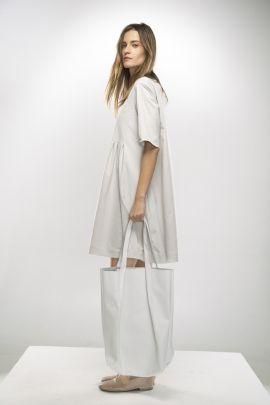 White leather bag   Adelina Ivan Studio