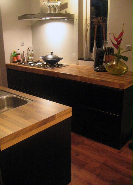 17 images about portfolio keukens badkamers van ennovy on pinterest ceramics toilets and taupe - Badkamer zwart en hout ...