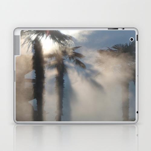 Sun and Palm trees Laptop & iPad Skin