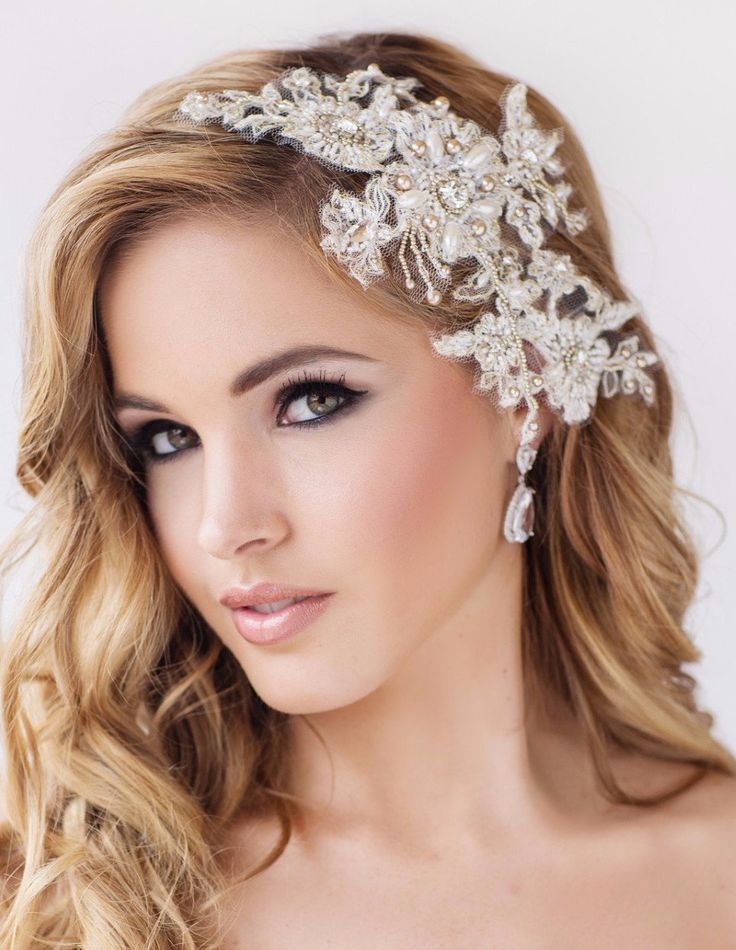 Lace Wedding Veils And Headpieces Www Pixshark Com