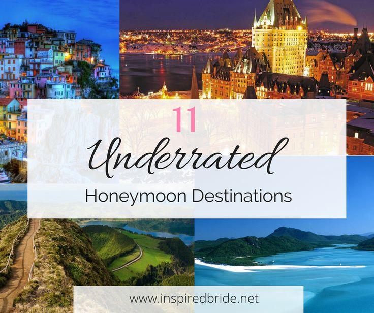 Romantic, Unique & Adventurous Honeymoon Destination Every Newlyweds Will Love!