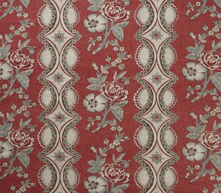 Susanna-Fraise : Marvic Textiles Toile de Nantes