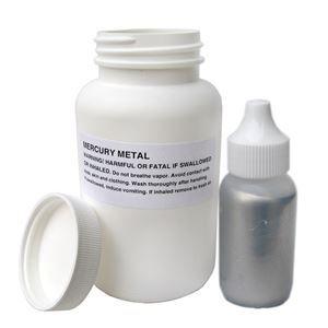 Mercury Metal (quicksilver), 3X Distilled, 1lb
