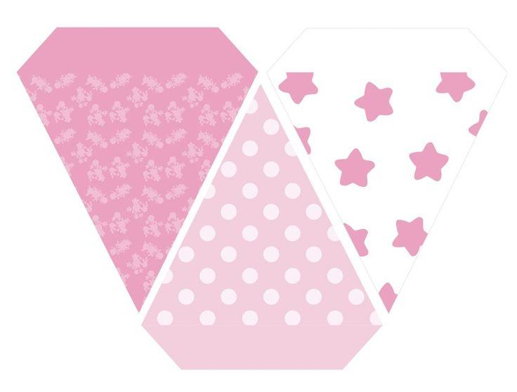 stars - floral - dots