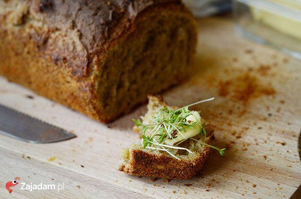BARDZO PROSTY przepis na chleb domowy