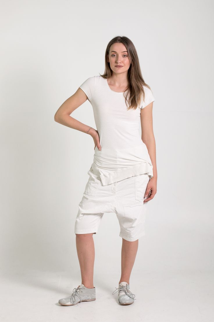 Rundholz Dip | Et Vous | White Top and Shorts