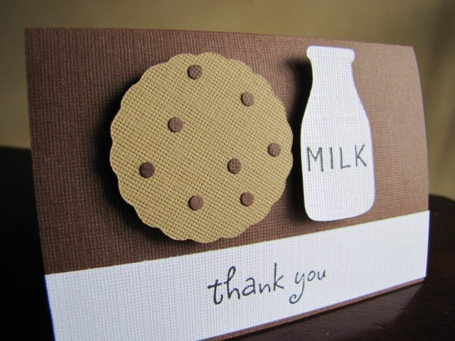 Milk and Cookies Party Favor Bag Toppers. $1.00, via Etsy.