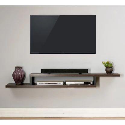 25 best ideas about wall mount tv shelf on pinterest Building Floating Wall Shelves Modern Floating Wall Shelves