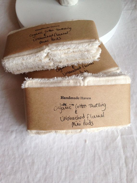 Mini Cleansing Pads 5 cm x 5 cm Make-up by MichelleGoodSoaps