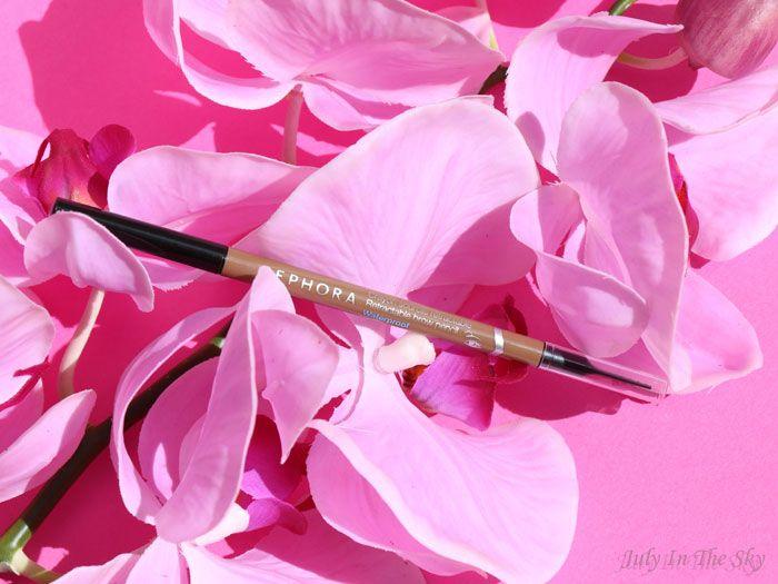 July In The Sky - Blog Beauté et Photo : Deux alternatives au Brow Wiz d'Anastasia Beverly Hills : Crayon sourcils rétractable waterproof de Sephora : Nutmeg Brown