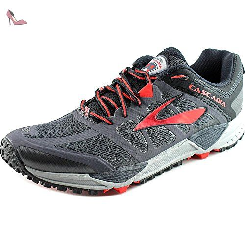 Brooks Pr Ld 4:10, Chaussures d'Athlétisme Homme - Multicolore (high Risk Red/nightlife/black), 44 EU