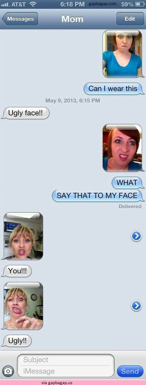 #Funny Text Messages By Mom